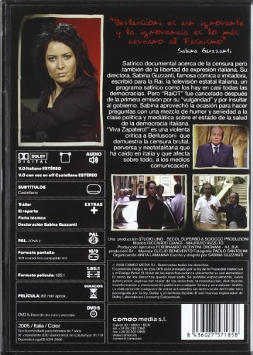 Viva Zapatero [DVD]