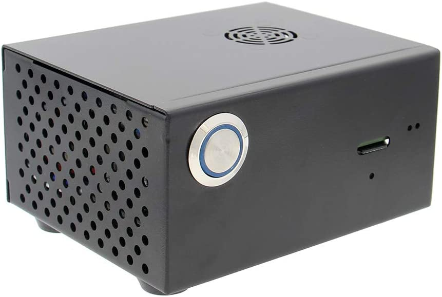 Geekworm for Raspberry Pi 3B+ 3B Po Enclosure X820 + Metal Large discharge Excellence sale Case