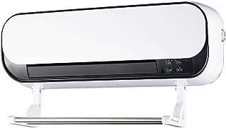 HQCC Calefactor montado en la Pared con 2 configuraciones de calefacción y Viento Natural, Temporizador de 8 Horas, 2000W (Blanco) (Color : Blanco)