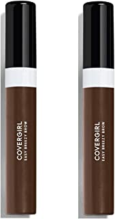 Covergirl Easy Breezy Brow Shape + Define Brow Mascara, 605 Rich Brown (Pack of 2)