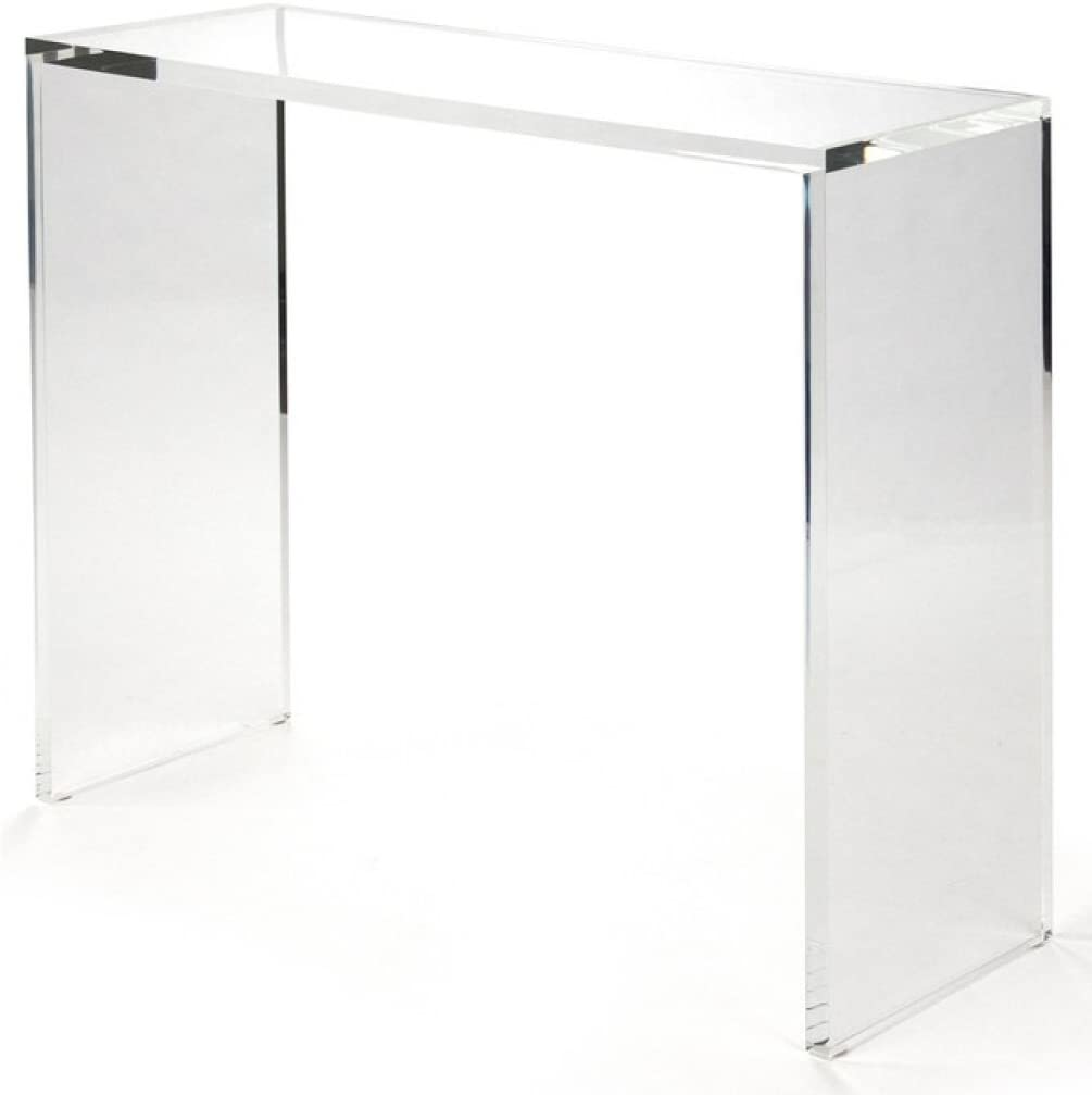 Amazon Com 48 Luxe Lucite Console Table Kitchen Dining