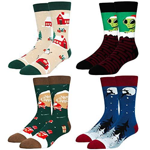 Men's Novelty Christmas Crew Socks