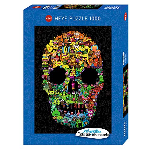 Doodle Skull Puzzle 1000 Teile