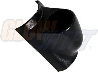 GlowShift Universal Black Single Pillar Gauge Pod - Fits Any Make/Model - ABS Plastic - Mounts (1) 2-1/16