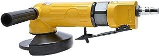 4インチの高トルク空気圧アングルグラインダー、100ミリメートルアングルグラインダー、ハンドヘルド空気圧グラインダー エアドリル エアチゼルハンマー (Type : Platen type)