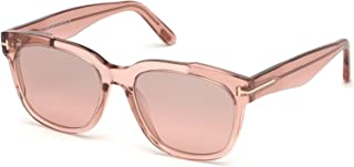 Sunglasses Tom Ford FT 0714 Rhett 72Z shiny pink/gradient or mirror violet
