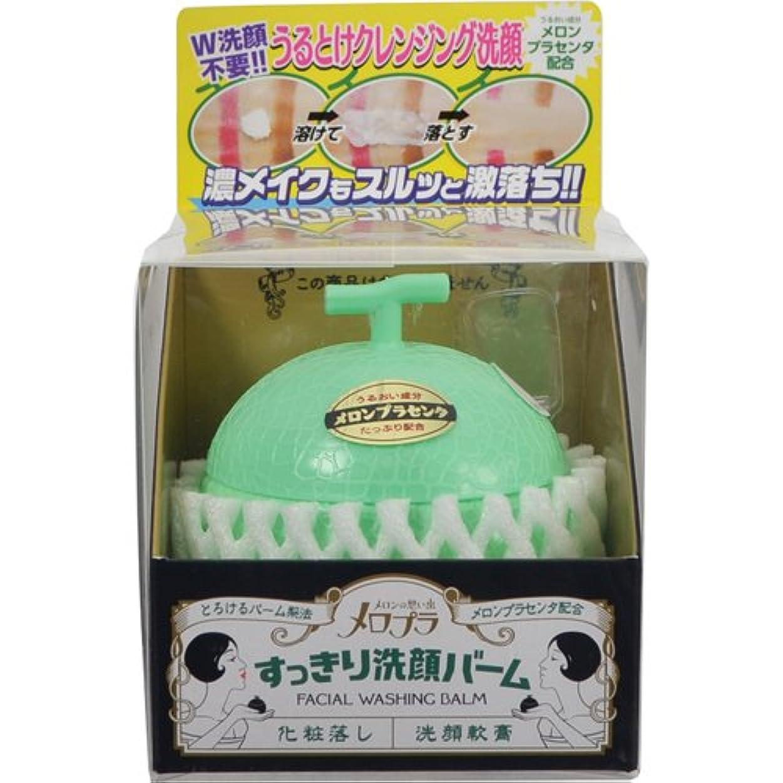 分数とても誠実メロプラ すっきり洗顔バーム 100g