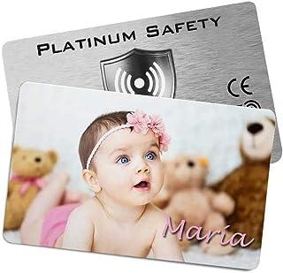 Lote 10 x Tarjetas RFID/NFC (Personalizadas) · Rfid Card/Rfid Blocker ideal para proteger Tarjeta Credito · Protector Pasa...