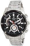 Casio Reloj Analogico para Hombre de Cuarzo con Correa en Acero Inoxidable sólido EFR-559DB-1AVUEF