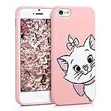Pnakqil iPhone SE / 5s / 5 Cover,Custodia per iPhone SE / 5s / 5 in Silicone TPU Slim Cover Case Antiurto...