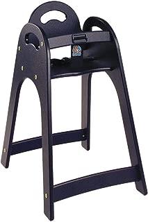 Designer High Chair Color: Black