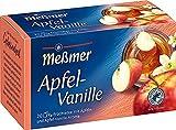 Meßmer Apfel-Vanille   20 Teebeutel   Vegan   Glutenfrei   Laktosefrei