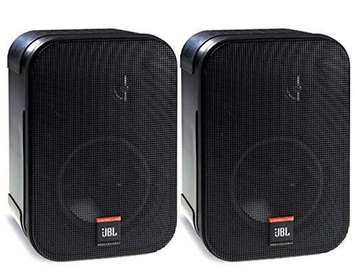 JBL Professional C1PRO High Performance 2-Way Professional Compact Loudspeaker System, Black , Sold as Pair (Renewed)