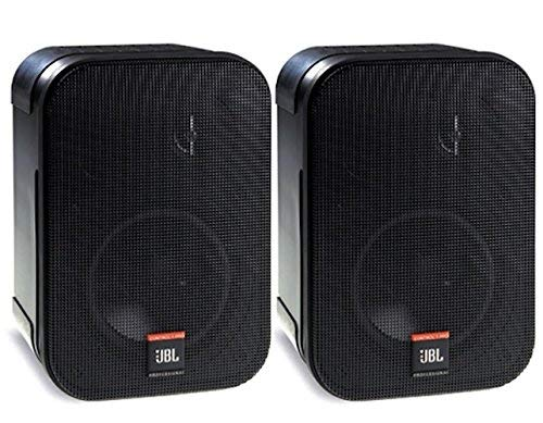 JBL Professional C1PRO High Performance 2-Way Professional Compact Loudspeaker System, Black , Sold as Pair (Renewed)