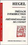 Introduction et preface à la Phénoménologie de l'esprit