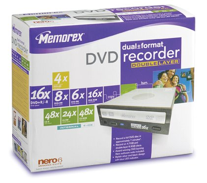 Find Discount Memorex 16x Dual Format, Double-Layer Internal DVD Drive (32023292)
