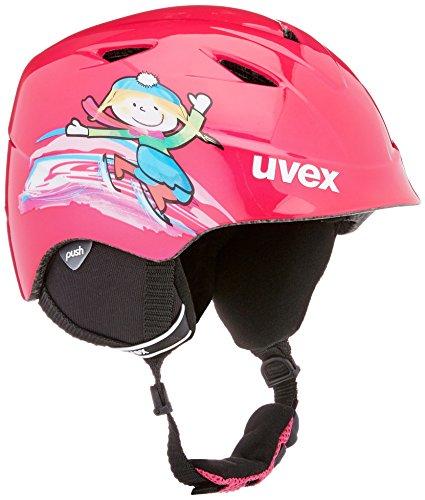 Uvex Kinder Airwing 2 Skihelm, pink, 48-52 cm