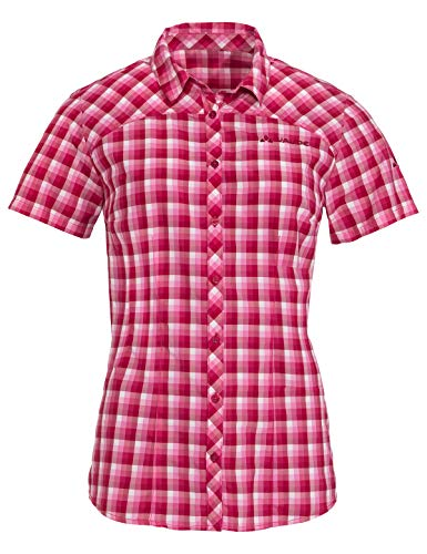 VAUDE Damen Bluse Women's Tacun Shirt, crimson red, 40, 408819770400