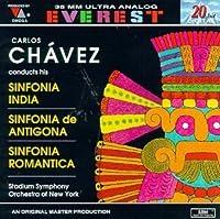 Chavez: Sinfonia India / Sinfonia De Antigona / Sinfonia Romantica by New York Stadium Symphony