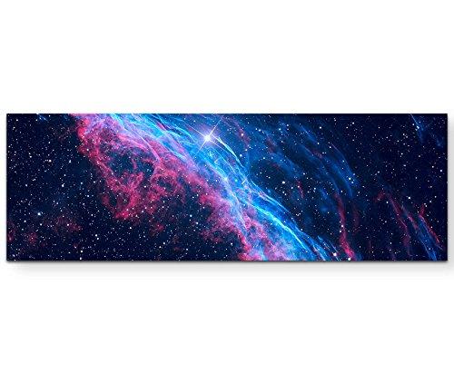 Paul Sinus Art Supernova - Panoramabild auf Leinwand in 120x40cm