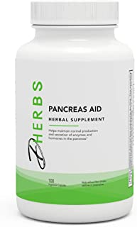 Dherbs Pancreas Aid, 100-Count Bottle