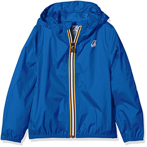 K-Way Jungen Claude Regenjacke, Blu (Blue Royal 618), 152