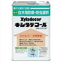 大阪ガスケミカル株式会社 キシラデコール 白木 やすらぎ 14L