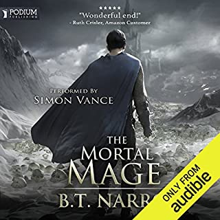The Mortal Mage                   Auteur(s):                                                                                                                                 B. T. Narro                               Narrateur(s):                                                                                                                                 Simon Vance                      Durée: 13 h et 14 min     2 évaluations     Au global 4,5