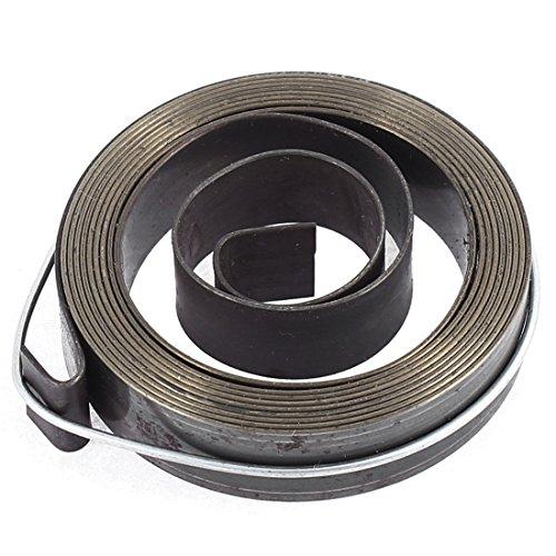 sourcingmap Larghezza 12 mm, in metallo, Recoil-Quill-molla di ritorno per trapano