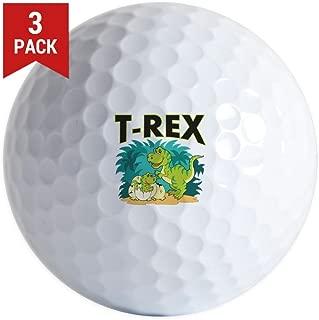 Golf Balls (Set of 3) T-Rex Dinosaur Tyrannosaurus Baby