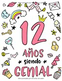12 Años Siendo Genial: Regalo de Cumpleaños 12 Años Para Niñas....