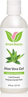 Best Aloe Vera Gel from Organic Cold Pressed Aloe for Face, Body, and Hair, 8 fl. oz. Review