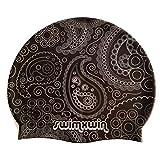 Swimxwin Gorro de Silicona Drop | Gorro de Natación|Gorro de Piscina | Alta Comodidad y Adherencia | Diseño y Estilo Italiano