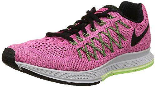 Nike Wmns Air Zoom Pegasus 32, Scarpe da ginnastica, Donna, Rosa (Pink Pow/Blk-Brly Vlt-Ghst Grn), 36.5