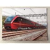 鉄道ファン付録2021車両カレンダー 壁掛けタイプ令和3年2021年2月号月号付録のみ