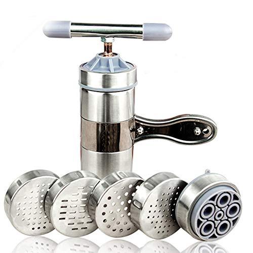 Mayyou Manuelle Pasta-Maschinen, Edelstahl-Noodle Maker Manual Noodle Press Pasta Maschine Küchenmaschine