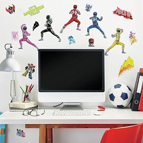 RoomMates Power Rangers Peel And Stick Wall Decals