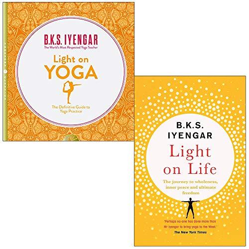 Light on Yoga, Light on Life 2 Books Collection Set by B.K.S. Iyengar