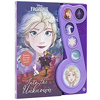Disney Frozen 2 - Into the Unknown Little Music Note Sound Book - PI Kids (Play-A-Song)