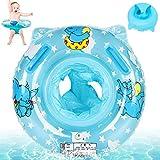 Anillo de Natación Asient,Flotador para Bebé,Flotador de Piscina para bebés,Anillo Flotador Bebe,Flotador Inflable para Bebé,Bebé Inflable Anillo de Piscina,Anillo de Natación para Bebé (Azul)