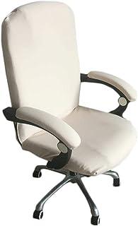 Lembeauty - Funda para silla de oficina, color sólido, elá