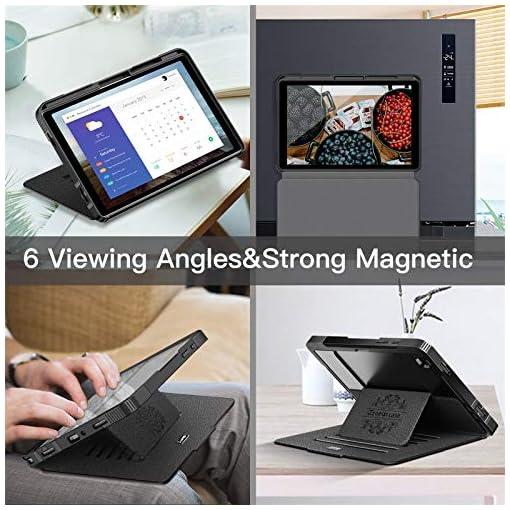 ZtotopCase Funda para Samsung Galaxy Tab A7 de 10,4 Pulgadas 2020, [6 ángulos de Soporte magnético] Funda de protección… 6