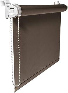 comprar comparacion Victoria M. Klemmfix - Estor Opaco para Ventana (fijación sin taladrar) tamaño: 50 x 150 cm marrón