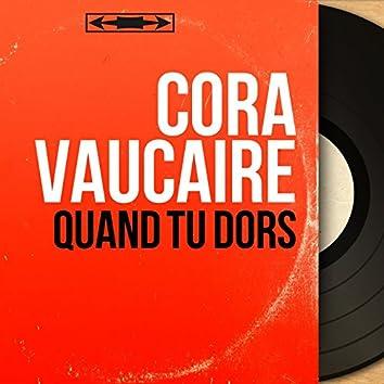 Quand tu dors (feat. Robert Valentino) [Mono version]