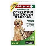 <span class='highlight'>Vetzyme</span> Antibacterial Pet Eardrops & Cleanser