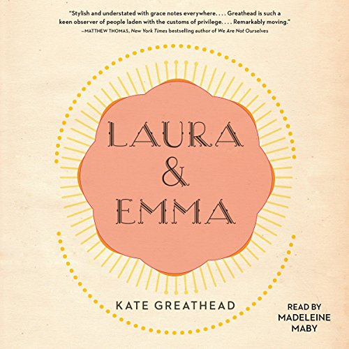 Laura & Emma audiobook cover art