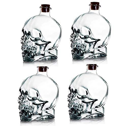 DNGDD Jarra de Vino de 750 ml, Jarra de Whisky, Botella de...
