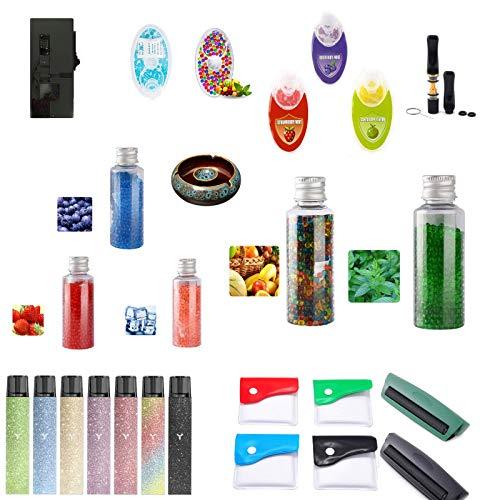 lilico Zigarettenfilterhalter Taschenaschenbecher DIY Zigarettenbombenrohrfilter Zigarettenrauchzubehör Set
