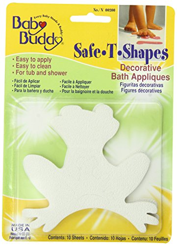 Baby Buddy BB Safe-T-Shapes Bath Tub Appliques, Frogs