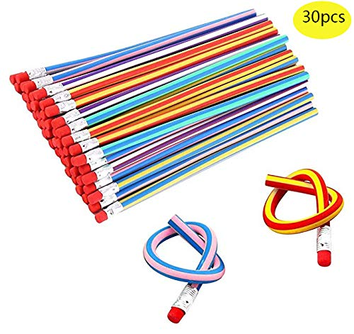 30 Pieces Flexible Soft Pencil Magic Bend Kids for Children School